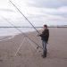 Domburg strand vissen juni 2014 1
